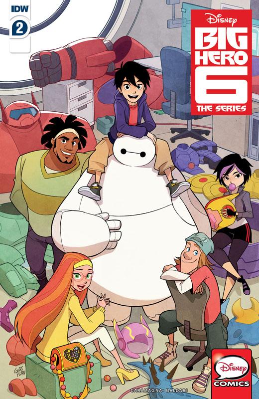 Big Hero 6 - The Series #1-3 (2019-2020)