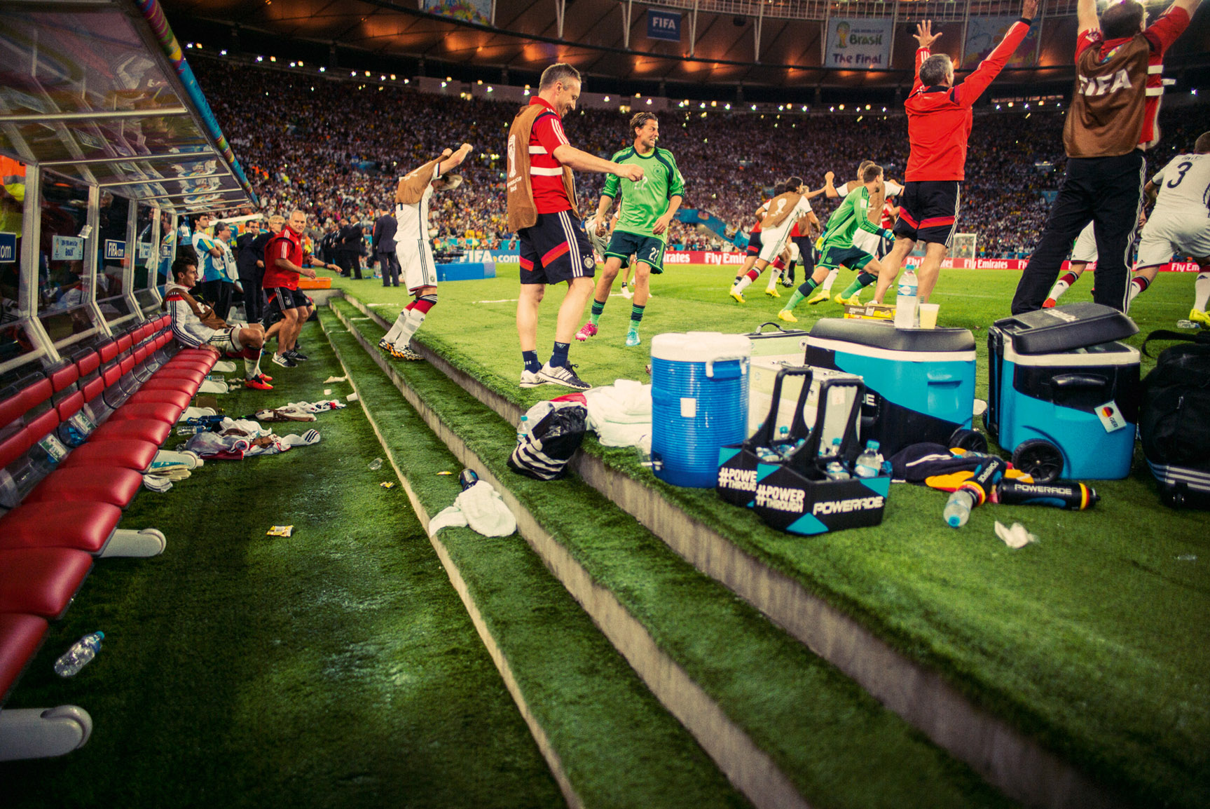 Сборная Германии - победитель Чемпионата Мира 2014 года в Бразилии