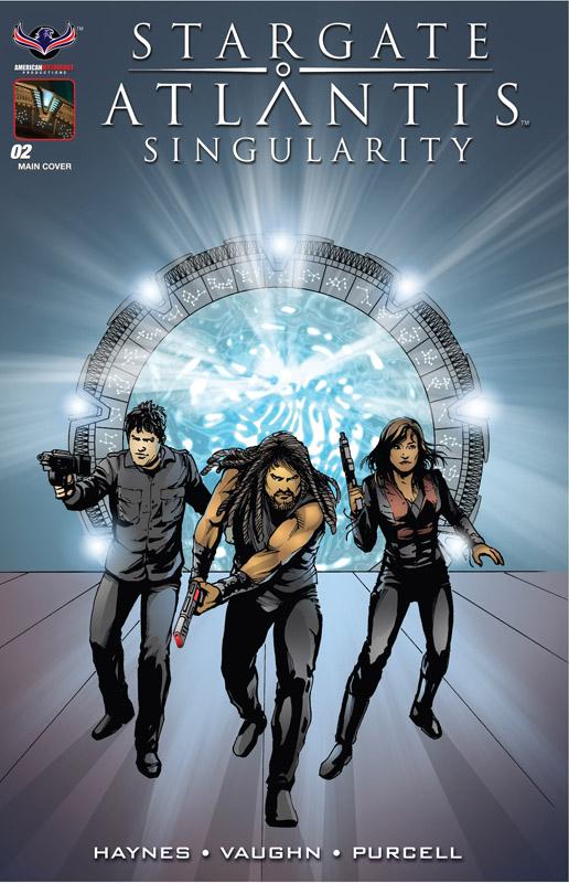 Stargate Atlantis Singularity #1-3 (2018)