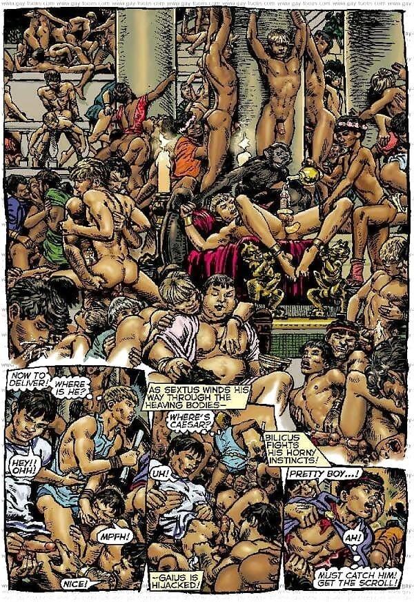Bukkake gay orgy-8242
