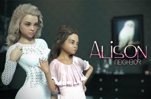 [Starkers] Neighbor Alison (comic, full)