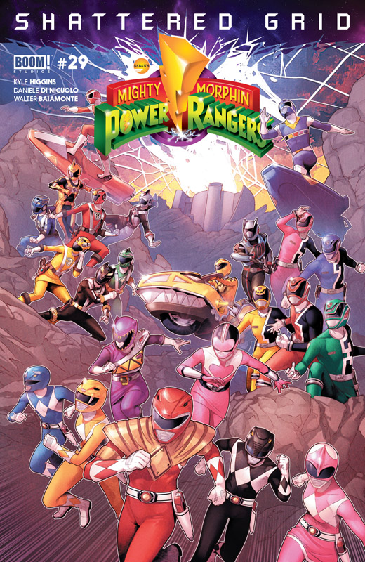 Mighty Morphin Power Rangers #0-29 + Annuals + Specials (2016-2018)