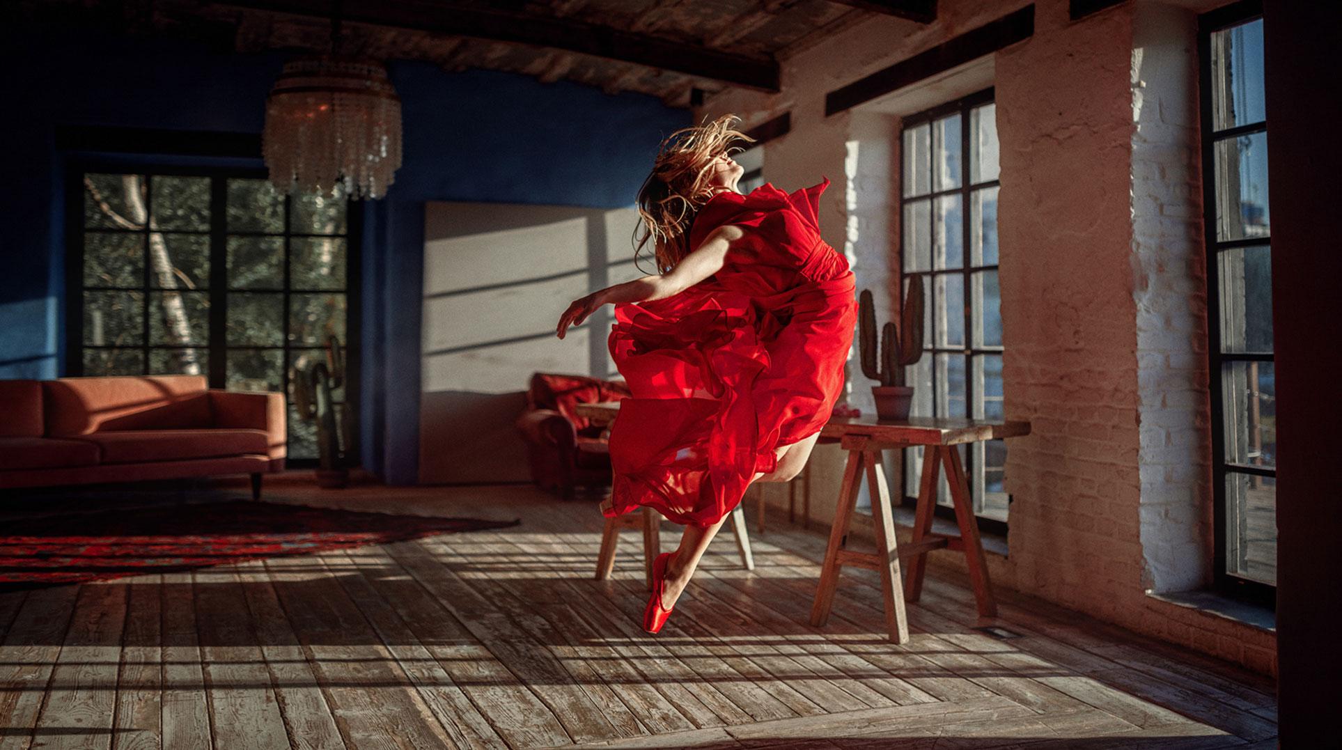 Балерина Анна танцуета сексуальный танец / фото 04