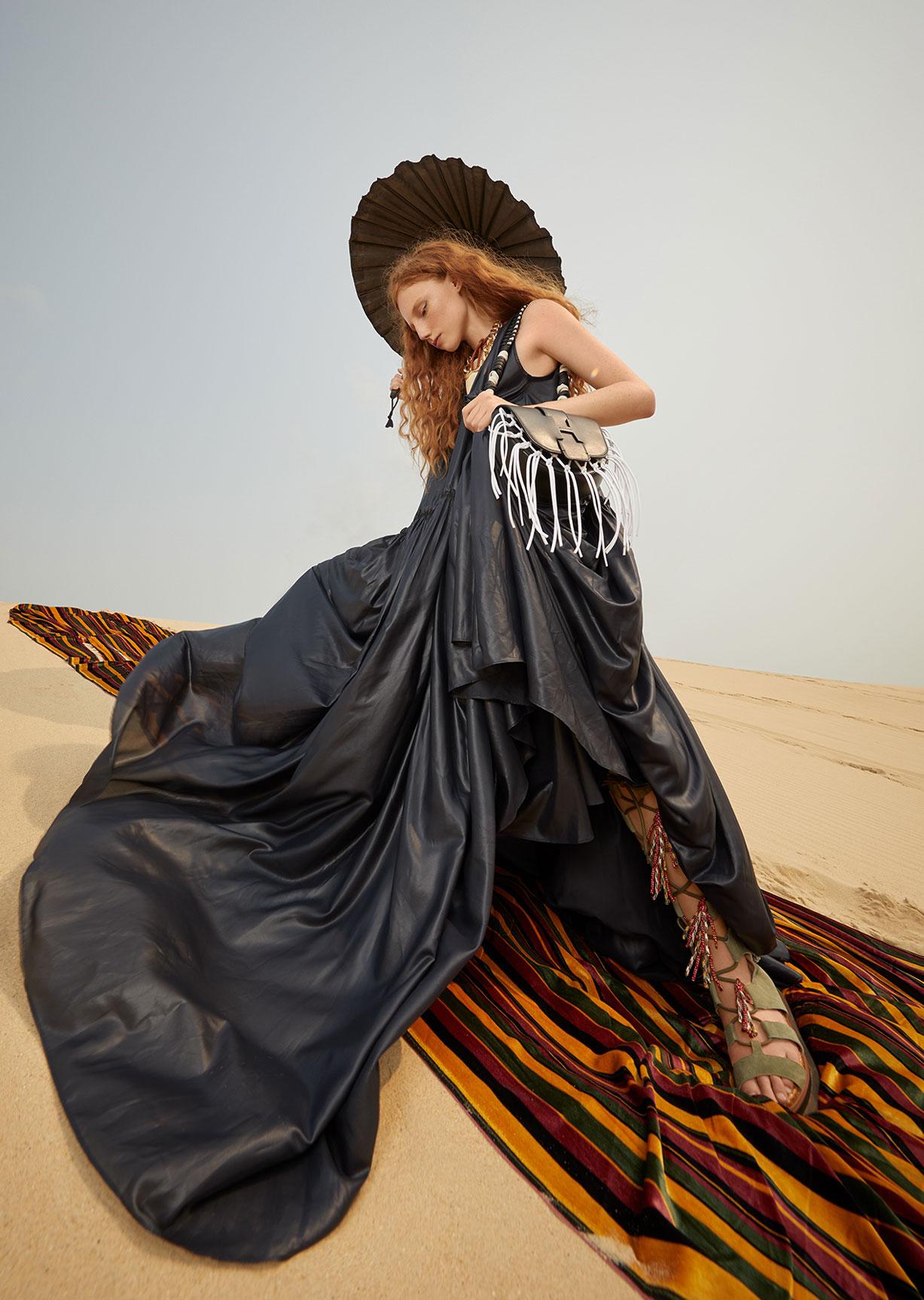 Модный маскарад в журнале Grazia / фото 04