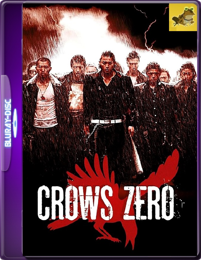 Crows Zero (2007) Brrip 1080p (60 FPS) Japonés Subtitulado