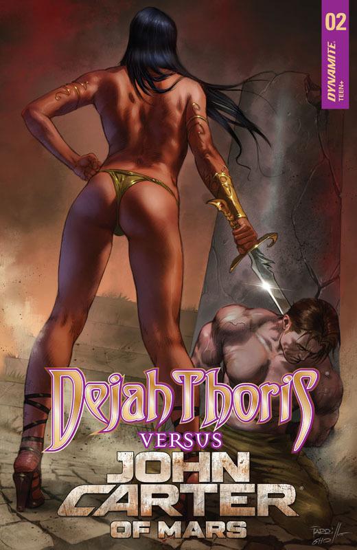 Dejah Thoris versus John Carter 01-04 (2021)