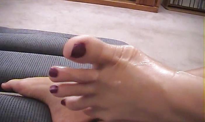 Janet mason nylon footjob-8910