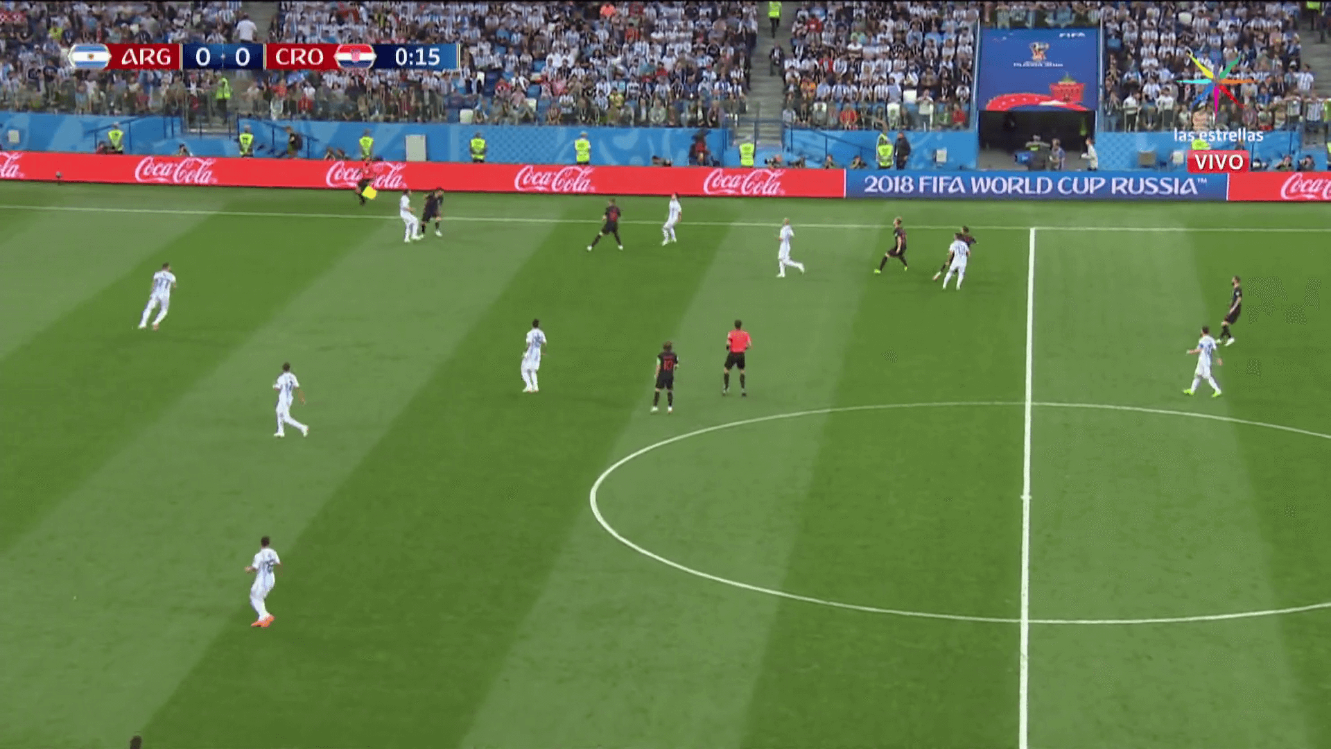 imagenes argentina vs croacia derrota