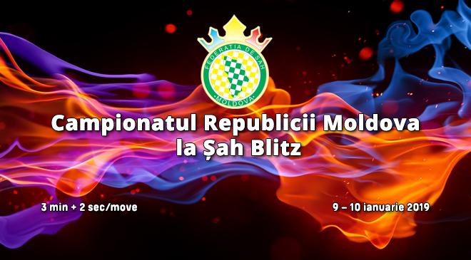 Чемпионат Республики Молдова  по блицу 2019