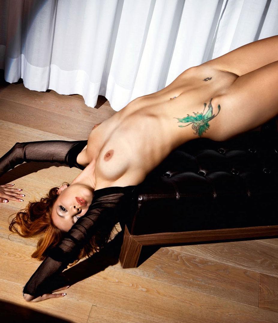 рыжие сексуальные красавицы в журнале Playboy - Sandra Vidovic