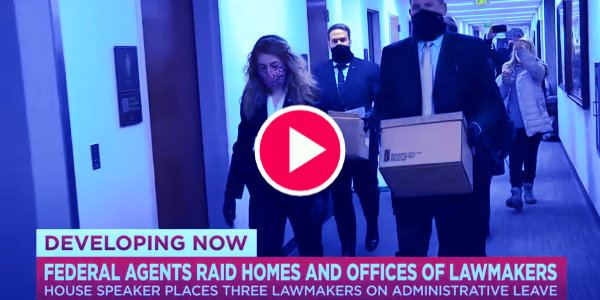 Federal agents raid TN lawmakers offices and homes…