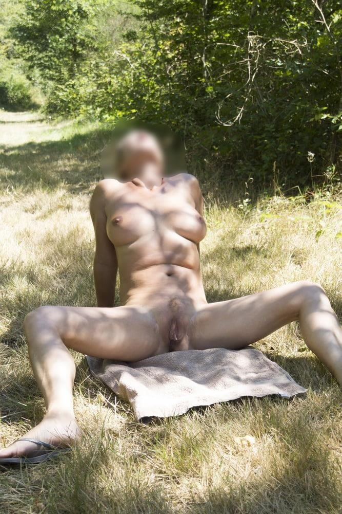 Milf naked in public-8471