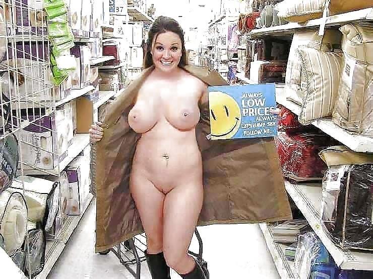 Busty public nudity-9546