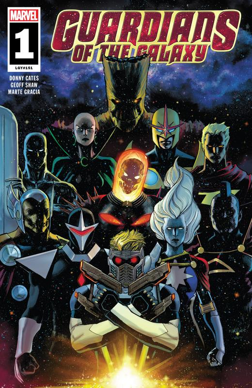 Guardians of the Galaxy Vol.5 #1-12 + Annual (2019-2020) Complete