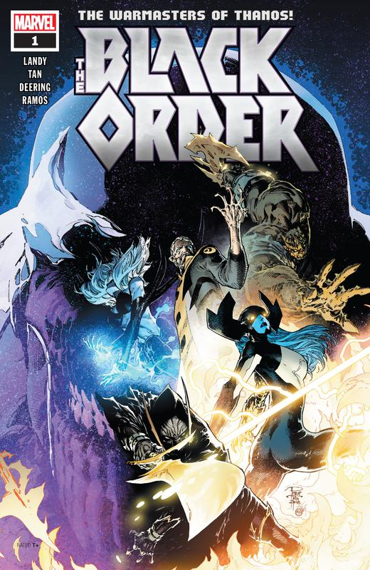 The Black Order #1-5 (2019) Complete