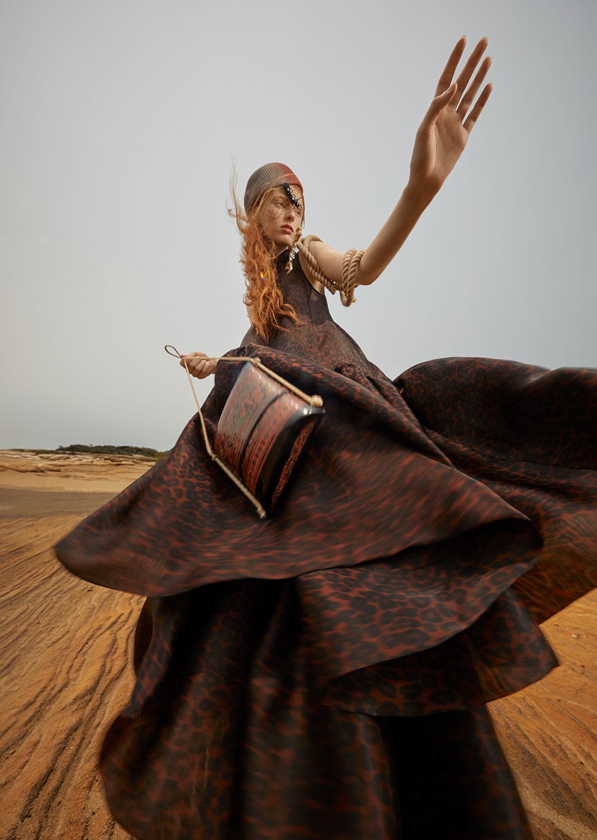 Модный маскарад в журнале Grazia / фото 06