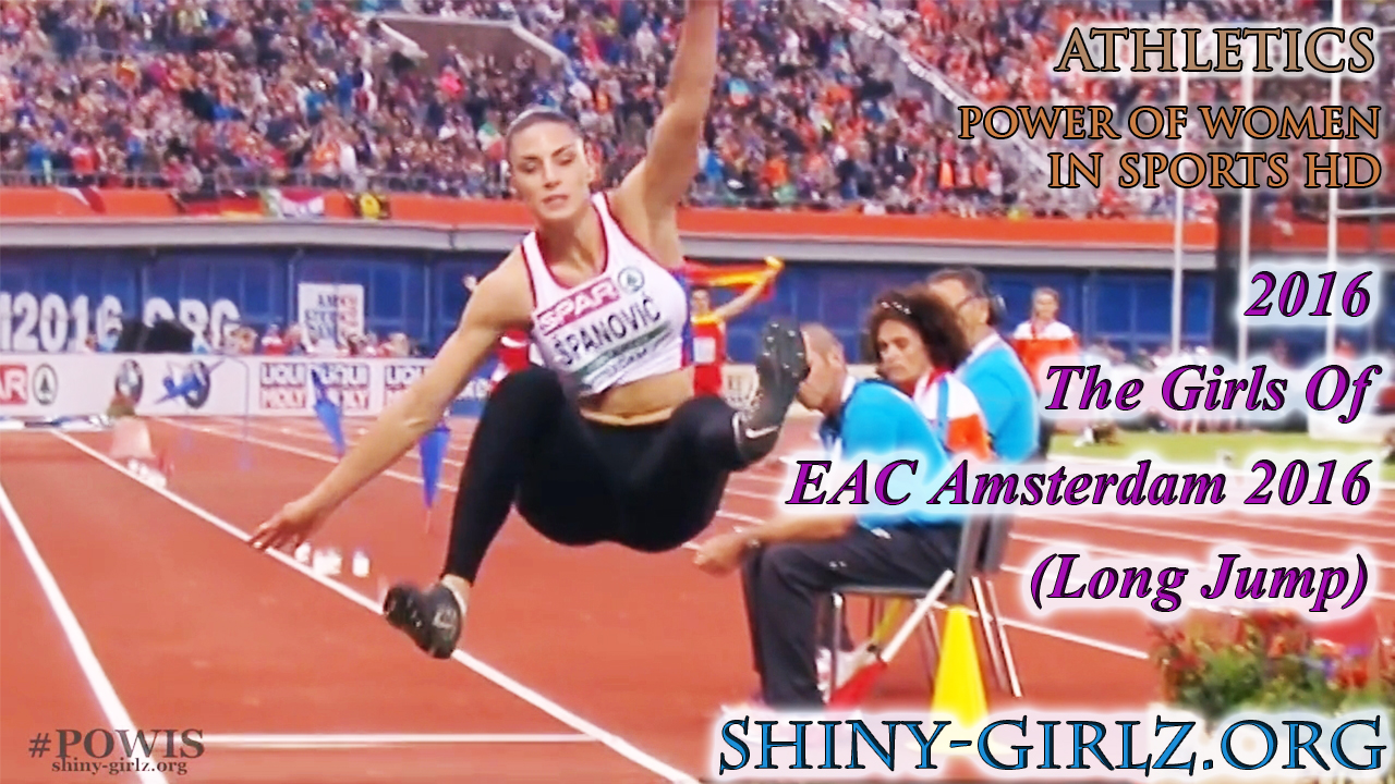 2016 – The Girls Of EAC Amsterdam 2016 (Long Jump)