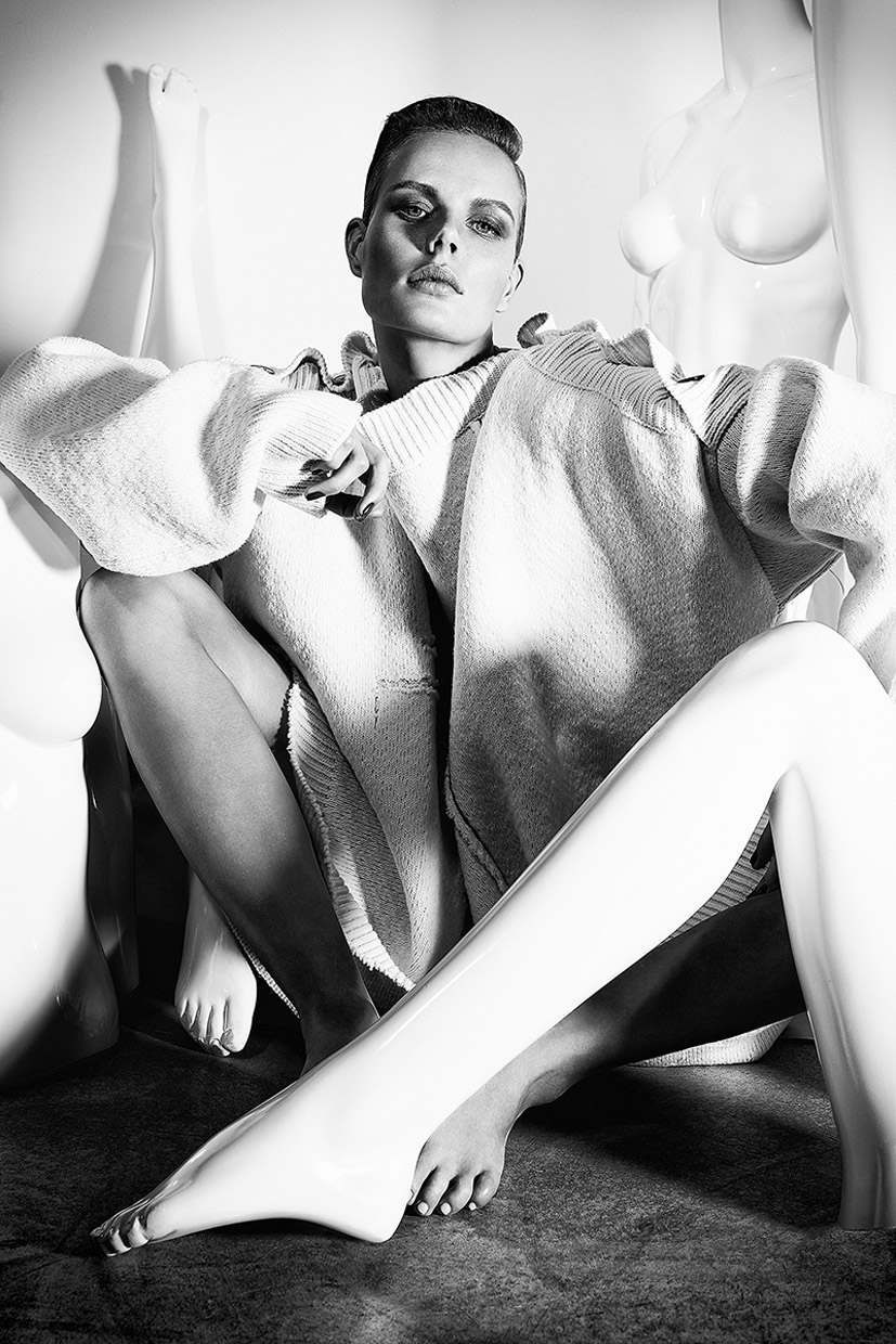 Big Time / Marlijn Hoek by Richard Bernardin / Fashion Magazine Canada april 2017