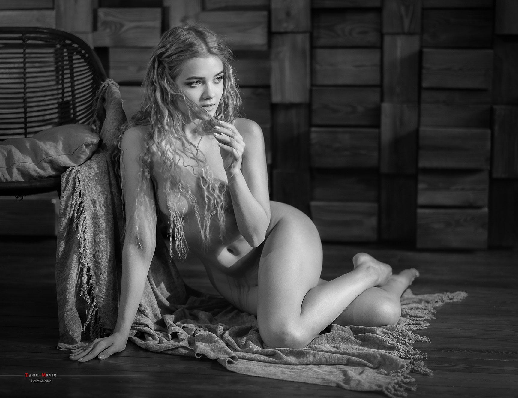 Виктория Соколова / Victoria Sokolova nude by Daniil Muray