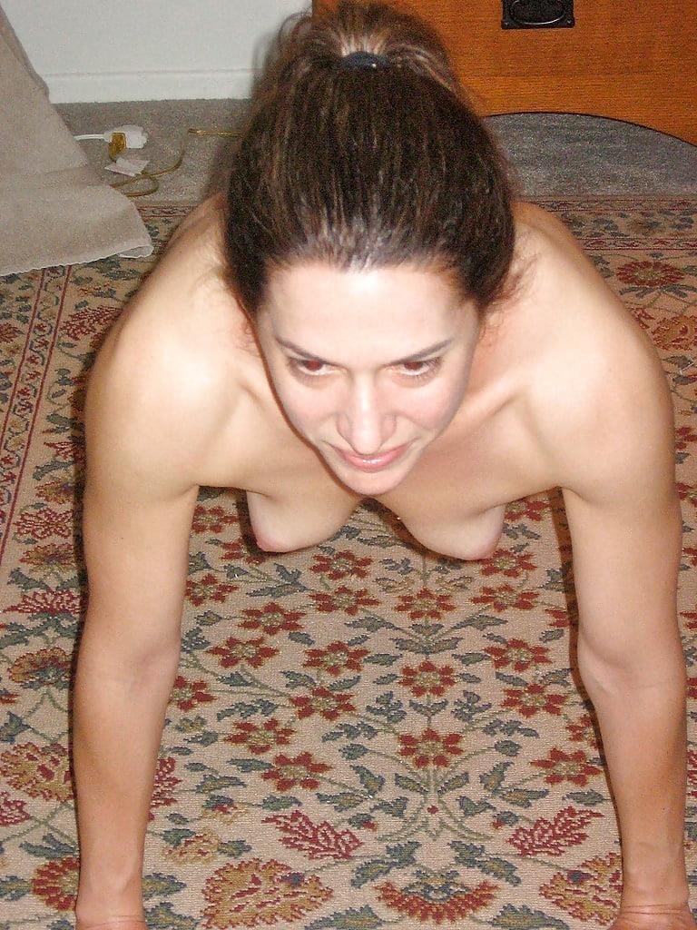 Hairy nude older women-2841
