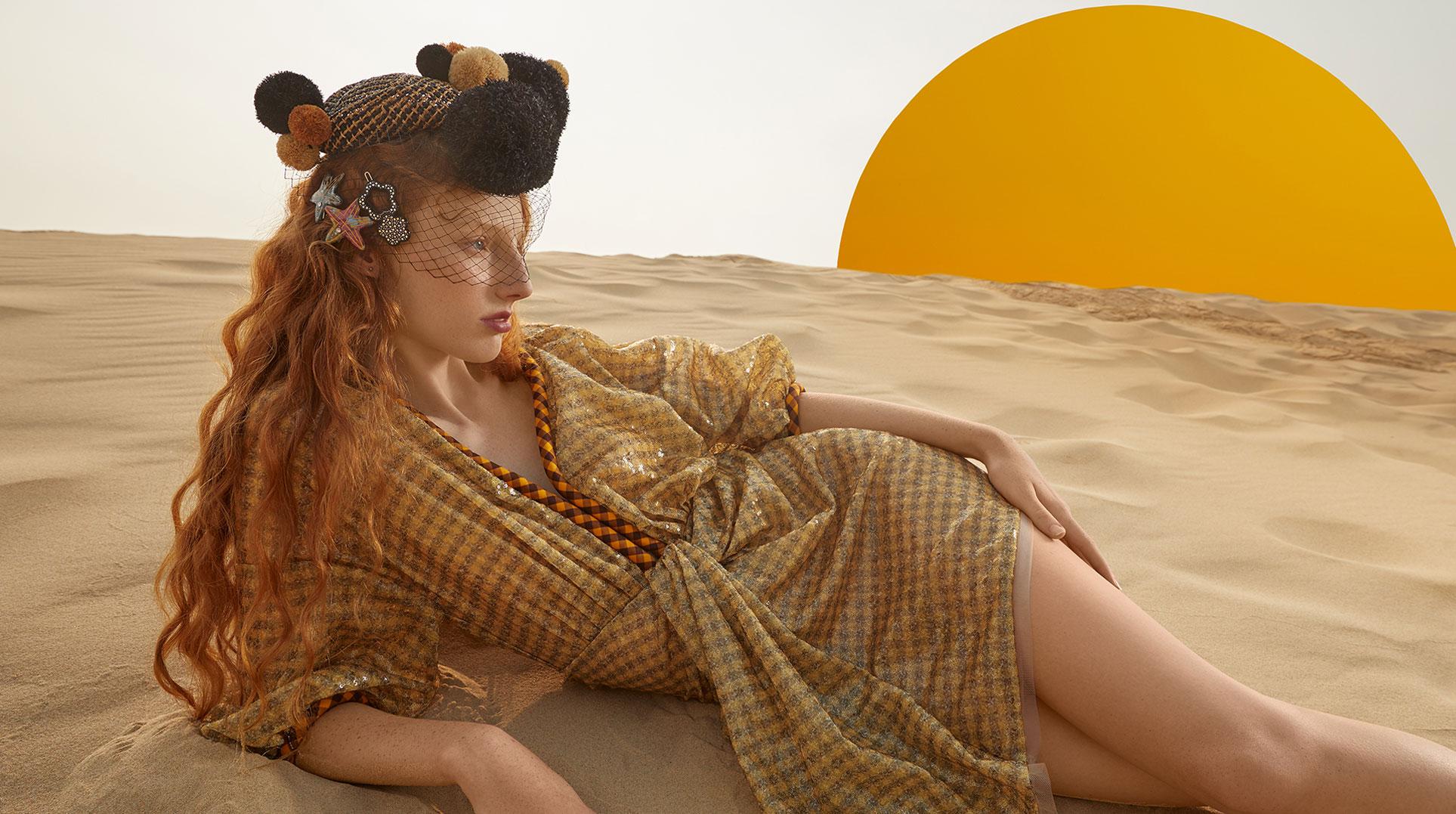 Модный маскарад в журнале Grazia / фото 01