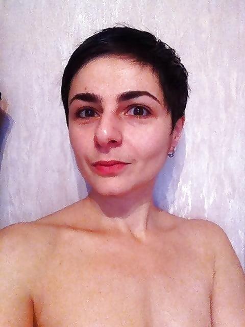 Short hair nude selfies-2851