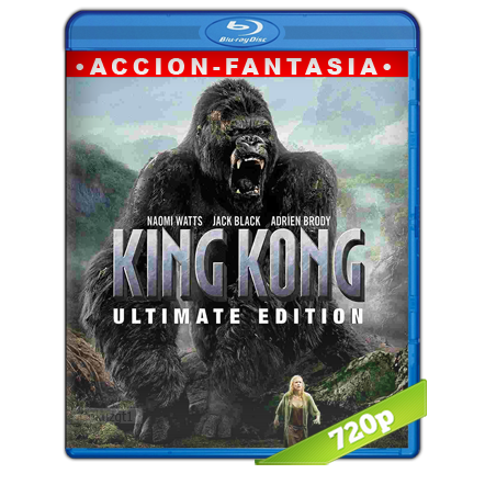 descargar King Kong 720p Lat-Cast-Ing 5.1 (2005) gratis