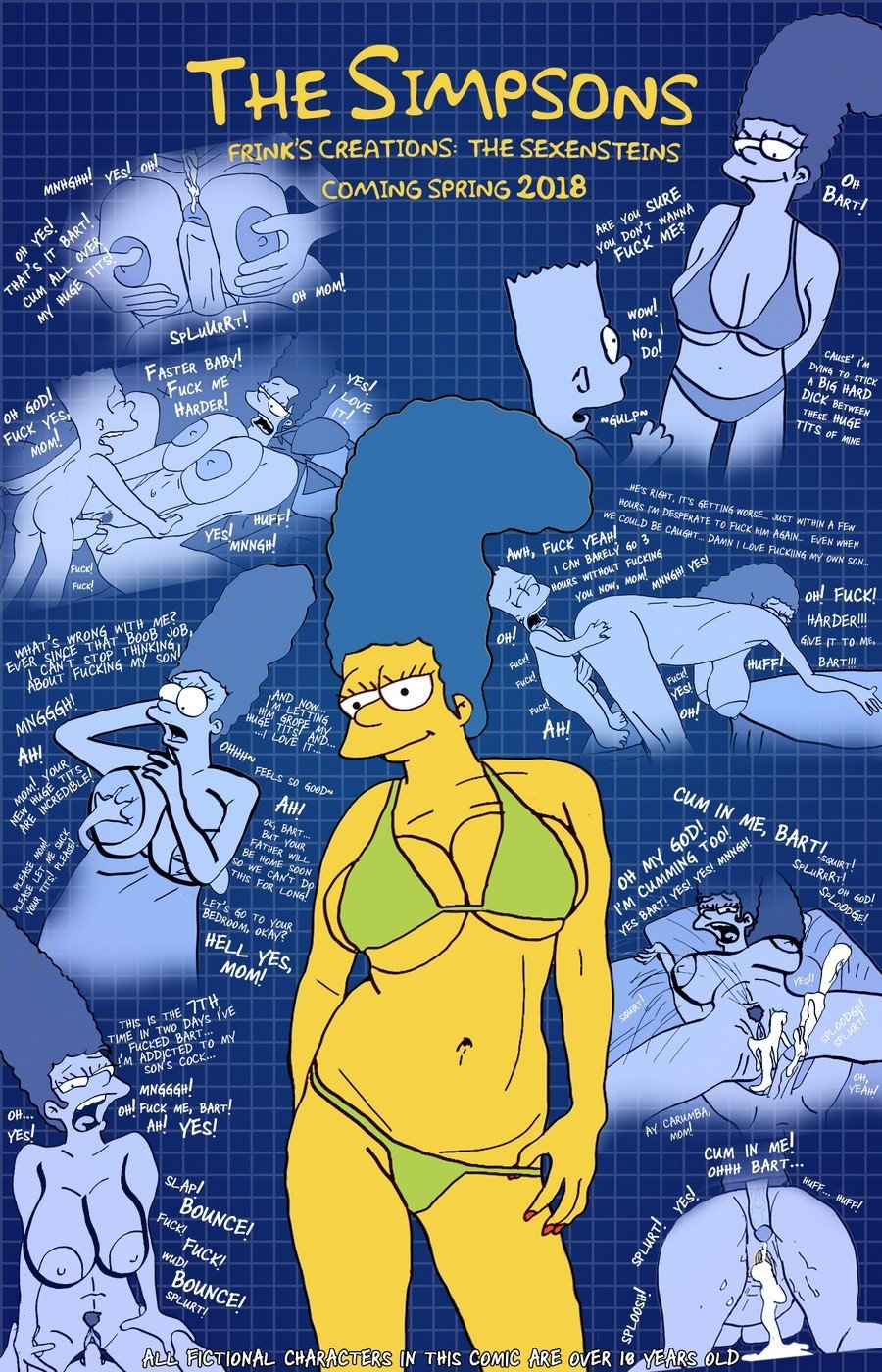 The Simpsons are The Sexenteins - 0