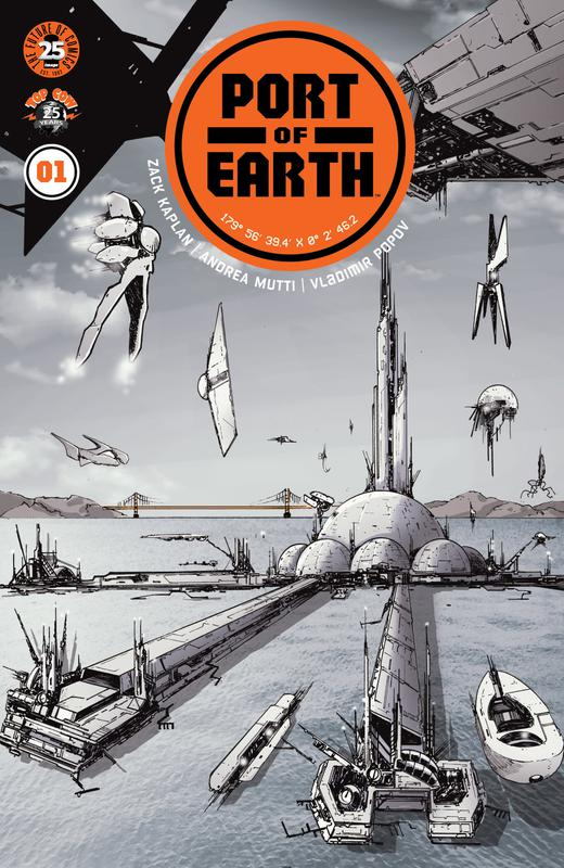 Port of Earth #1-8 (2017-2018)