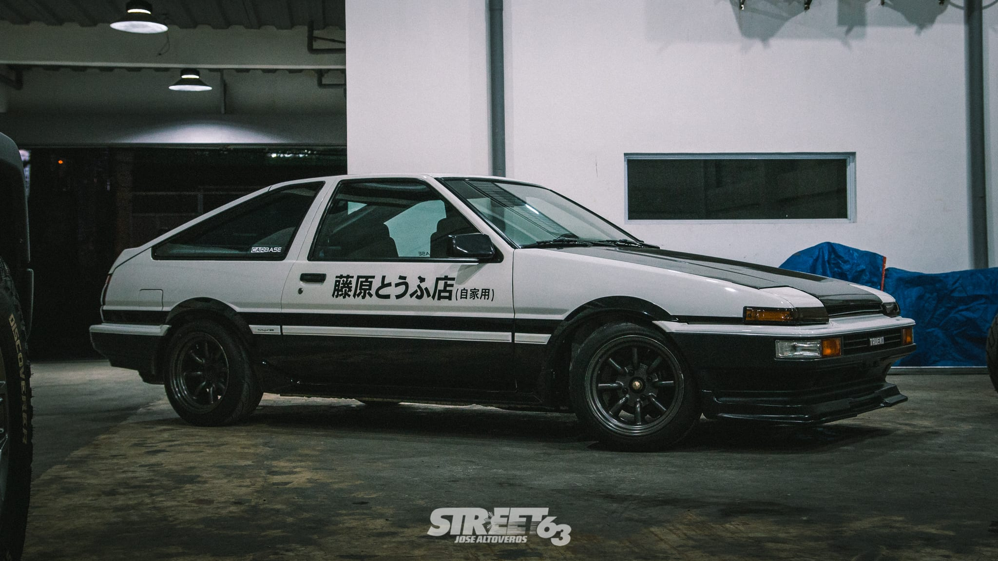 **Soybean Runner:** An Afternoon with an AE86