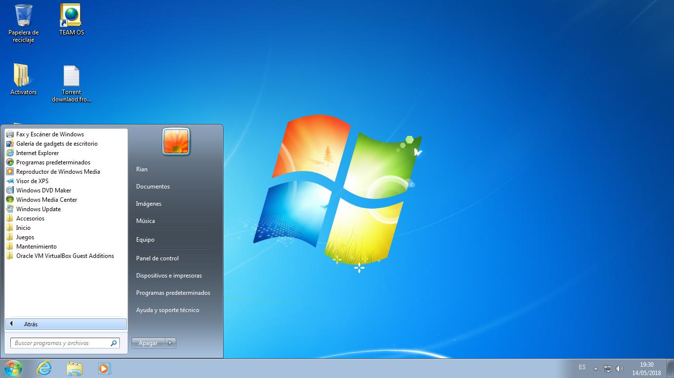 0WNg2g9E_o - Windows 7 SP1 AIO Español [32 Bits] [USB 3.0] [UL-NF] - Descargas en general