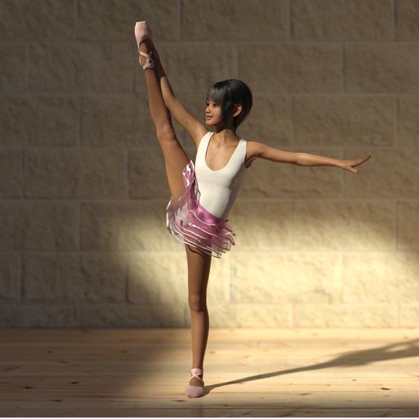 [U15fan] ballet practice (NN)