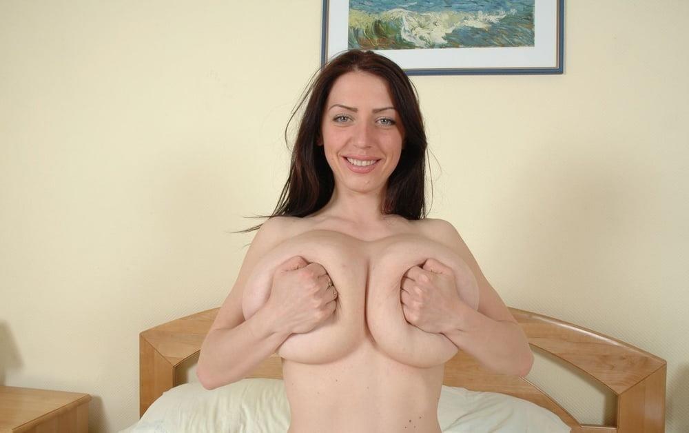 Slim girl huge tits-9231
