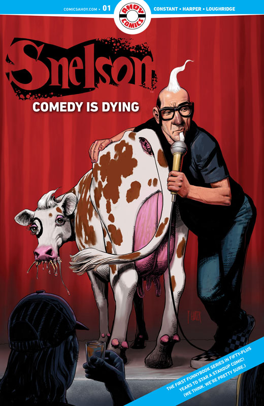 Snelson - Comedy Is Dying #1-2 (2021)