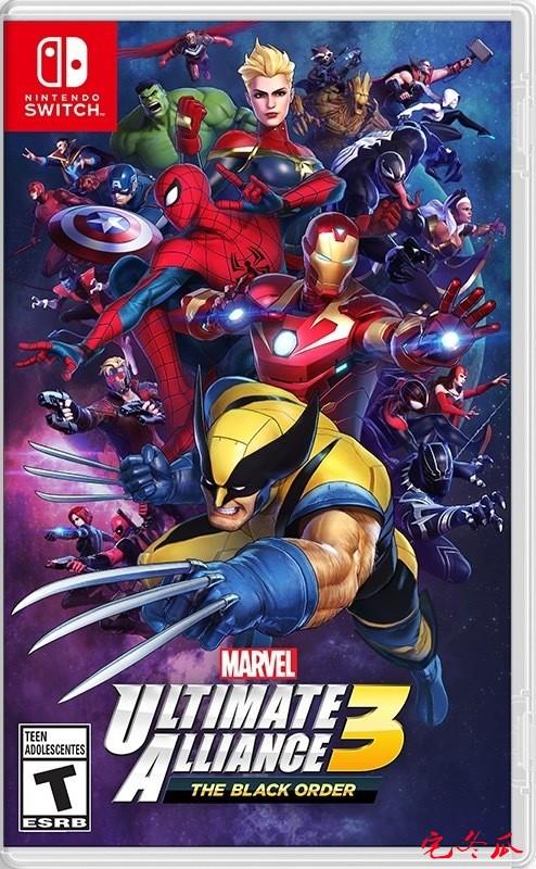漫威英雄游戏来啦!任天堂《漫威英雄:终极联盟3》来一场无双风味的英雄大乱战!