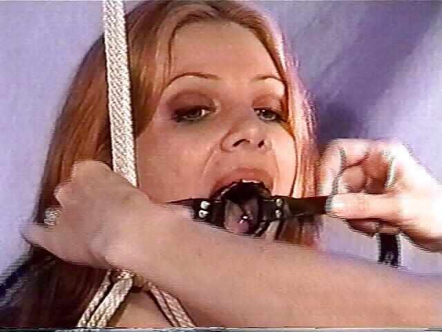 Bondage and gagged girl-3147