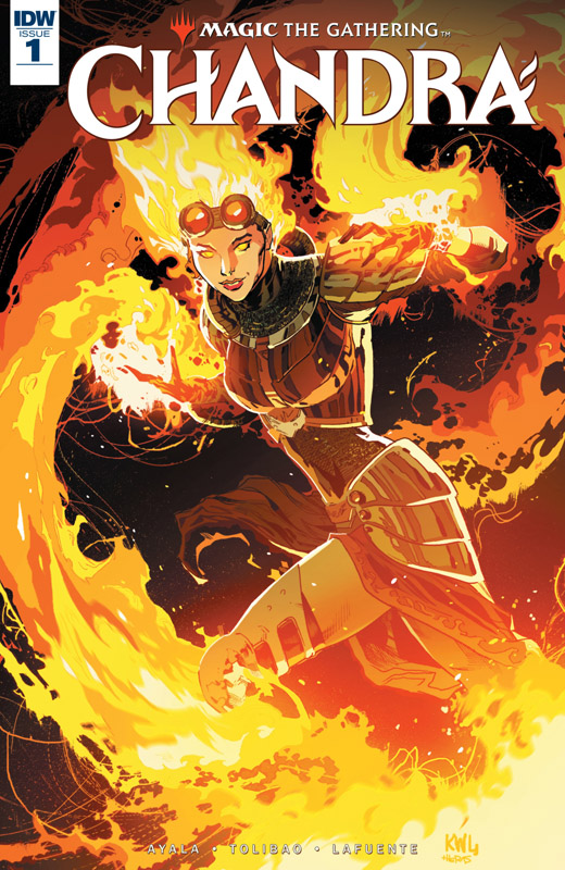Magic - The Gathering - Chandra #1-3 (2018-2019)