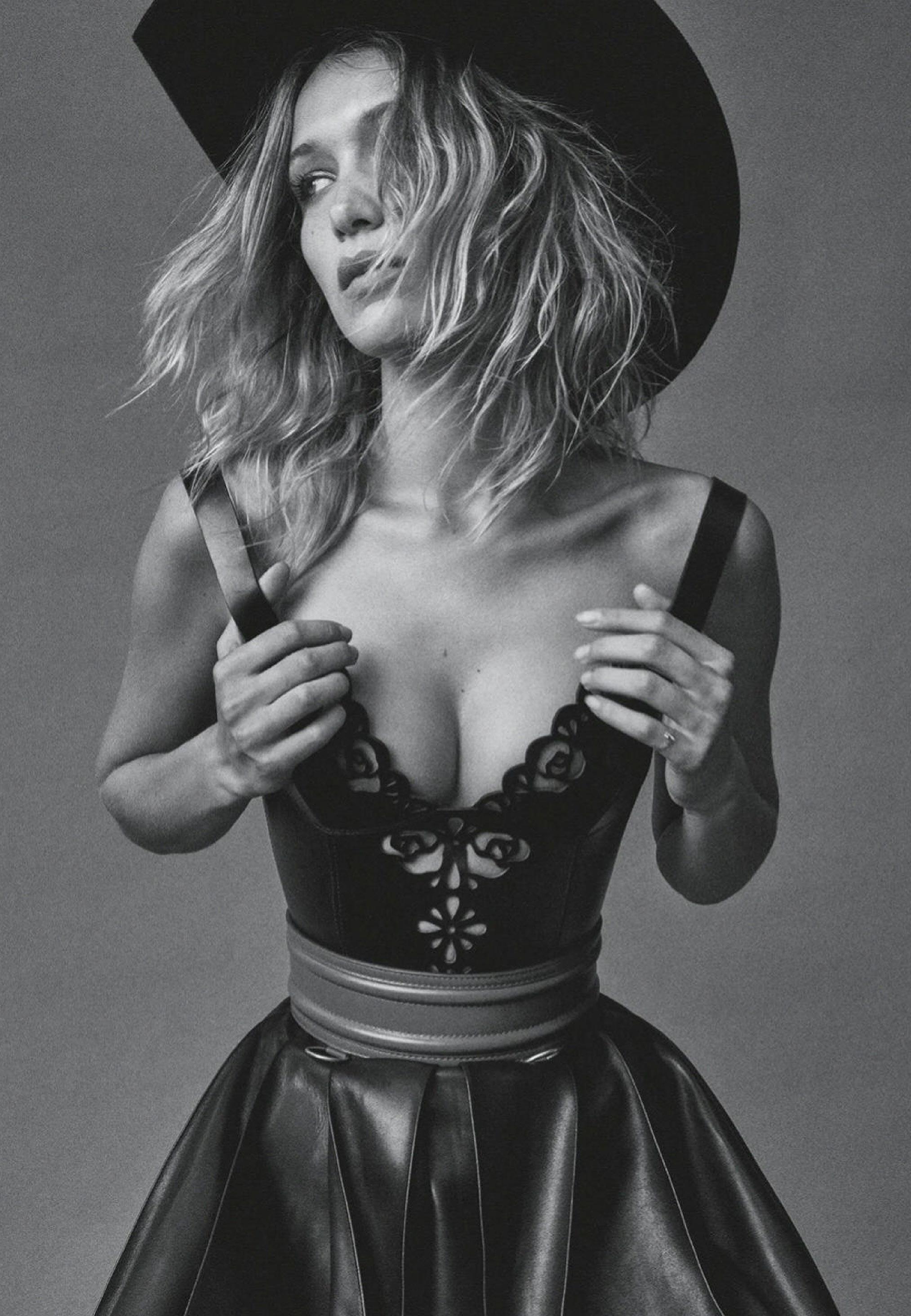 Сексуальный ковбой Белла Хадид, фотограф Дэниэл Джексон / фото 10