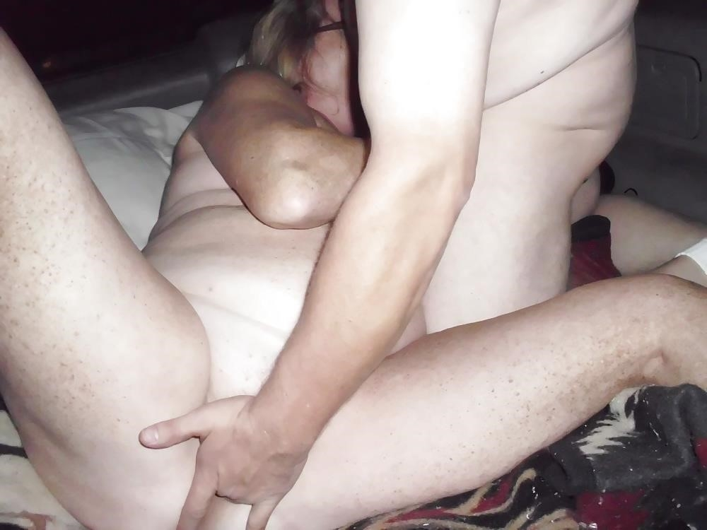Husband watches wife in threesome-8428