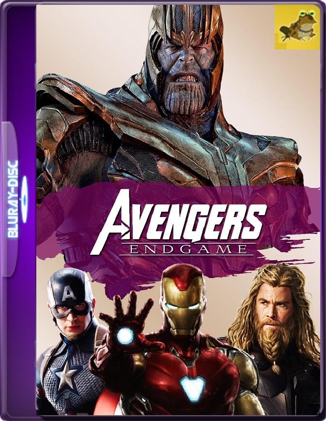 Avengers: Endgame (2019) Brrip 1080p (60 FPS) Latino / Inglés