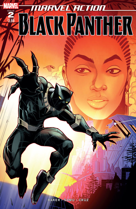 Marvel Action Black Panther #1-6 (2019)