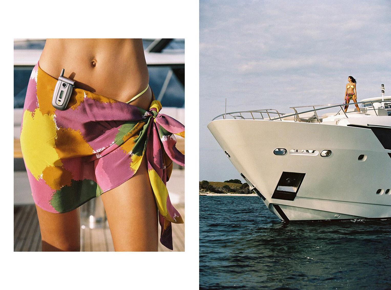 Келли Гейл в купальниках модного бренда Bamba Swimwear, лето 2020 / фото 02