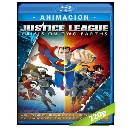 Liga De La Justicia Crisis En Dos Tierras HD720p Audio Trial Latino-Castellano-Ingles 5.1 2010