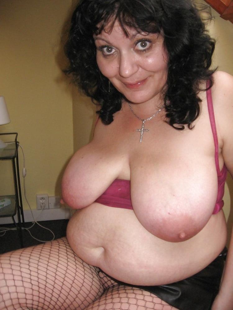 Big tit mature threesome-5896