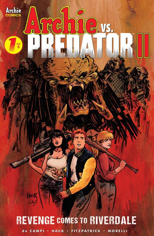 Archie vs Predator II #1-5 (2019-2020) Complete