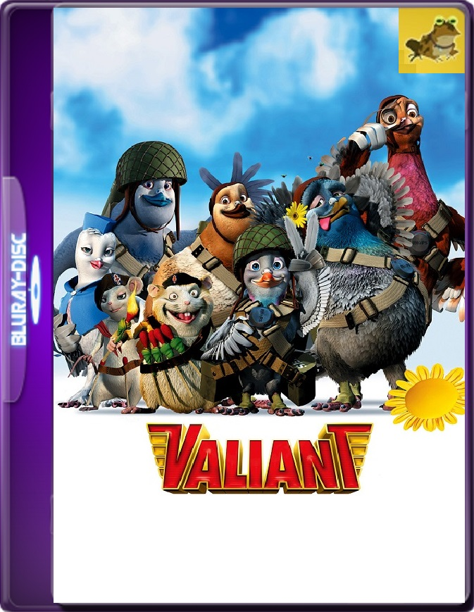Valiant (2005) Brrip 1080p (60 FPS) Latino