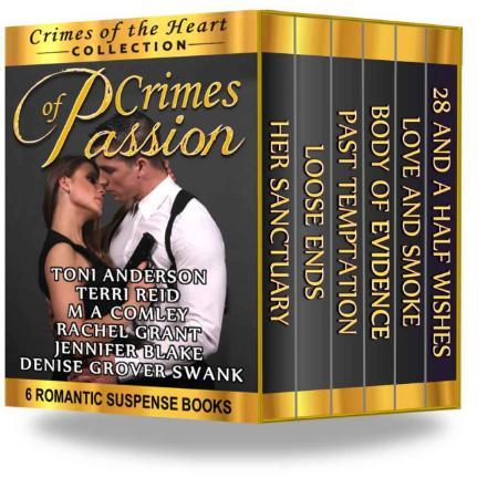 Crimes of Passion Box Set - Toni Anderson, Jennifer Blake, M A Comley