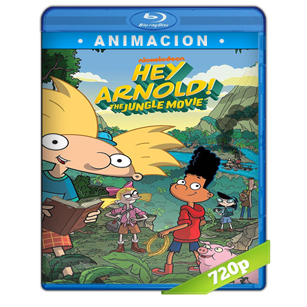 Oye Arnold Una Pelicula En La Jungla 720p Lat-Cast-Ing 2.0 (2017)