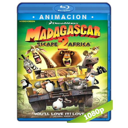 Madagascar 2 (2008) BRRip 720p Audio Trial Latino-Castellano-Ingles 5.1
