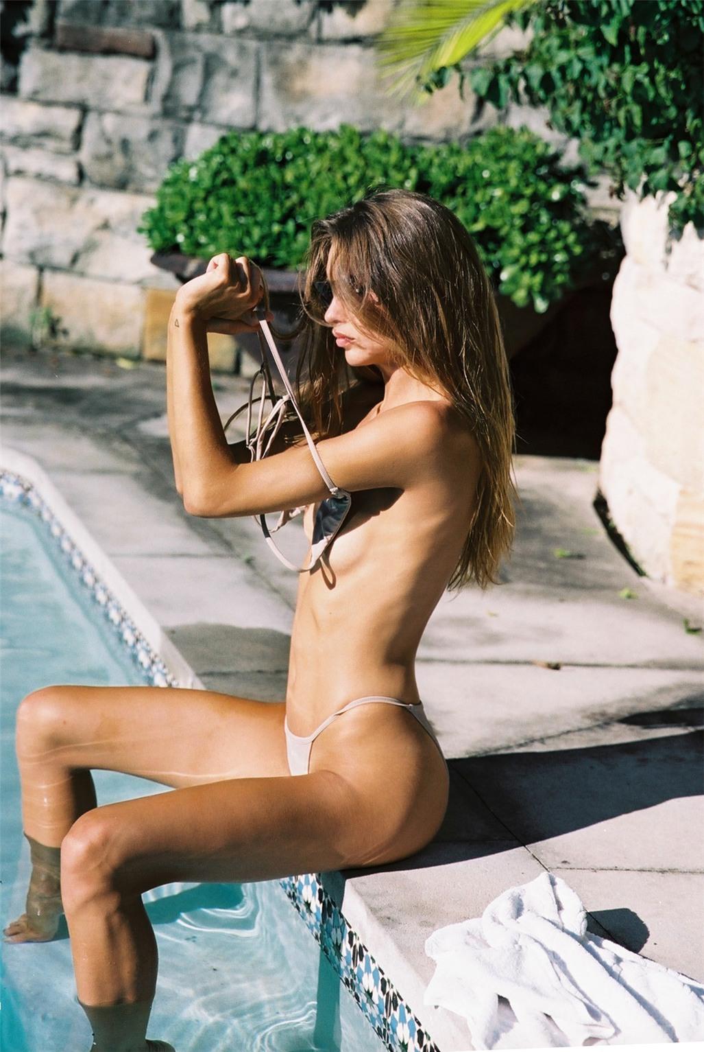 Avril Alexander by Cameron Hammond - Bamba Swim autumn/winter 2016 / From Dusk Till Dawn